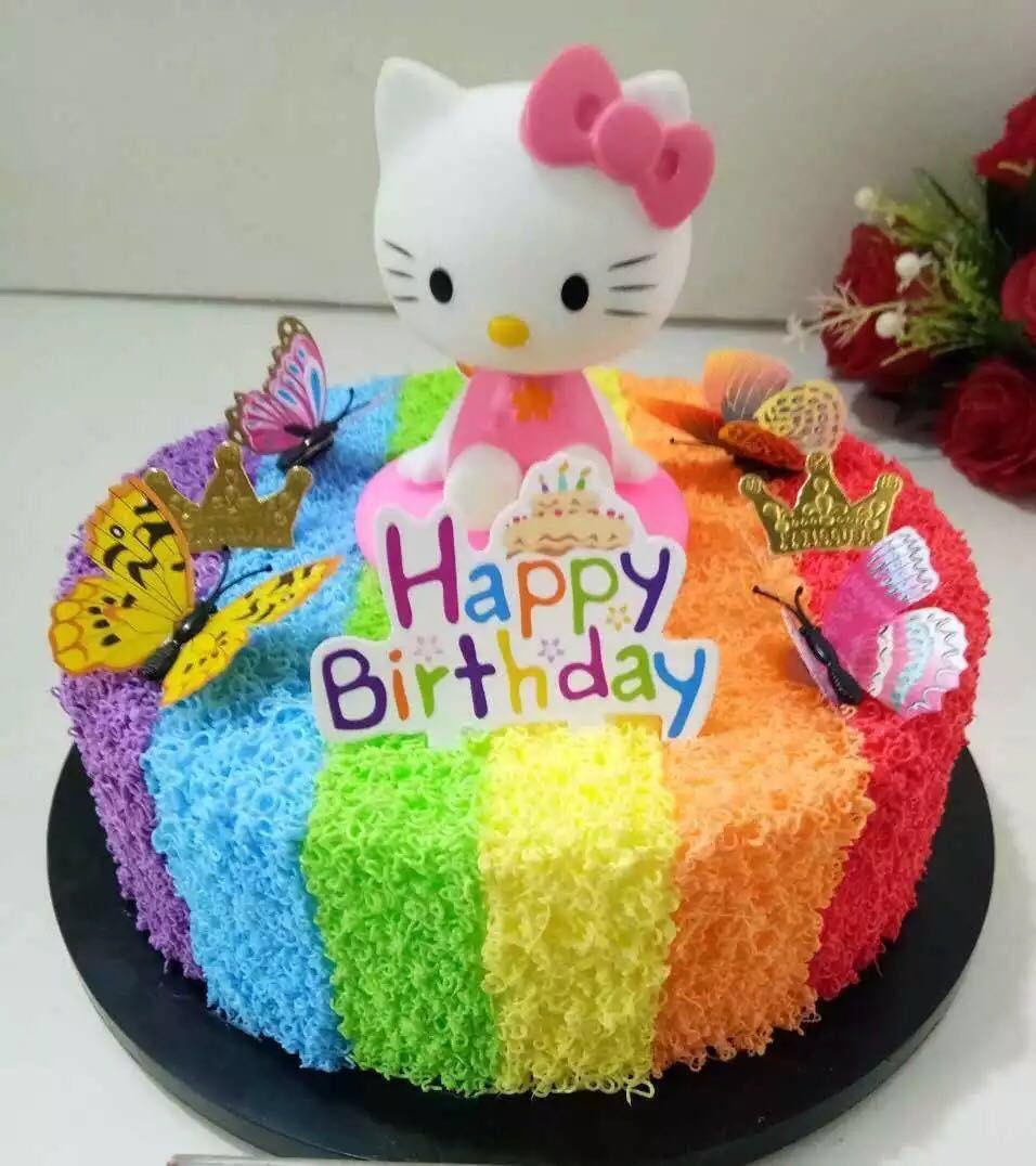 Stupendous 27 Elegant Picture Of Fake Birthday Cake Hello Kitty Birthday Personalised Birthday Cards Fashionlily Jamesorg