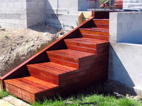 Marvelous Outdoor Wooden Stairs #13 Building Wooden Steps Outdoor .
