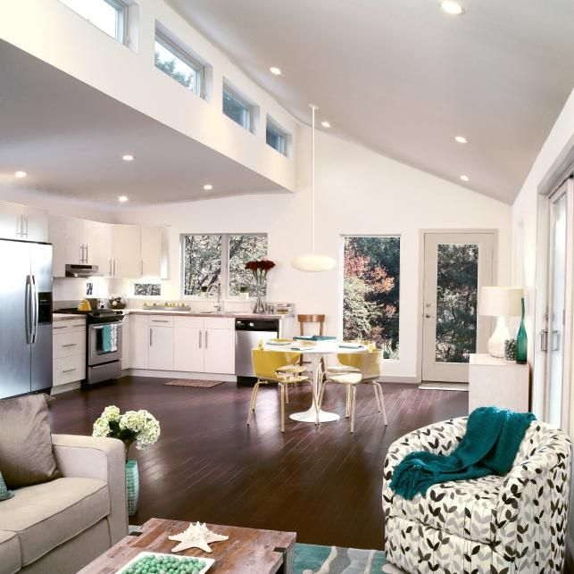 Element - Clerestory Windows - High Ceilings - Kitchen - Hardwood Floors