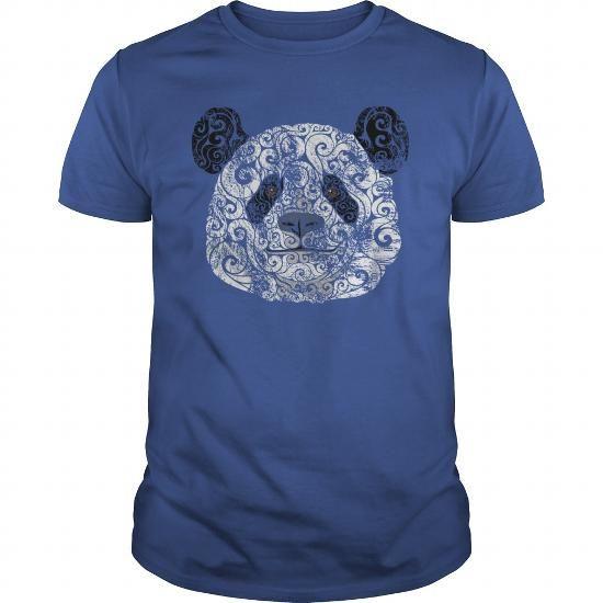 Swirly Panda