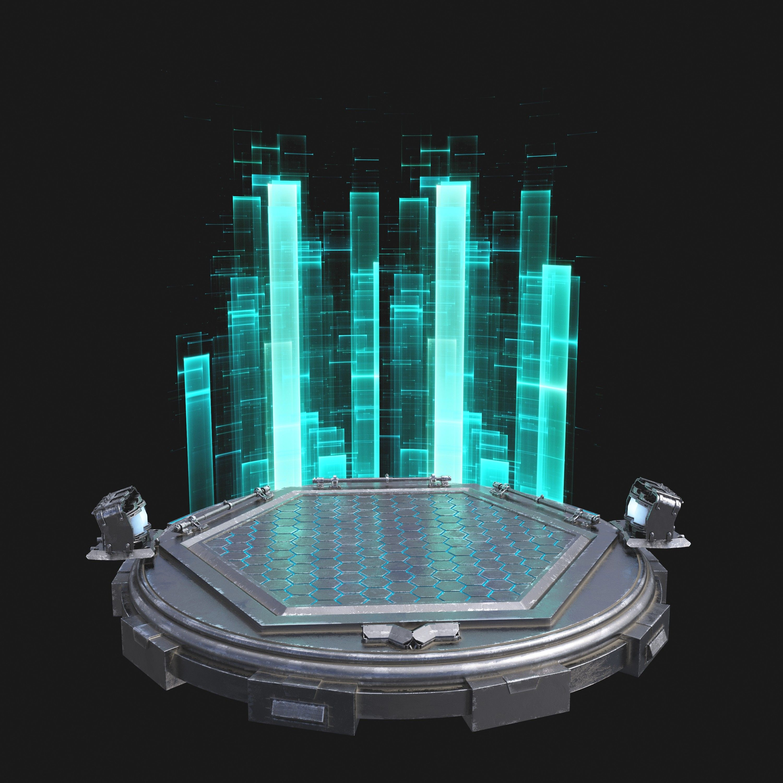 max sci fi turntable scifi modules, scifi props