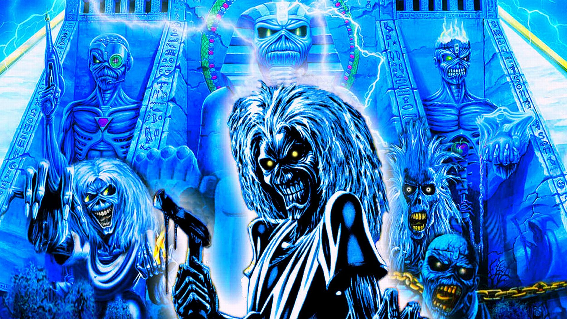 View, download, comment, and rate this 1920x1080 Iron Maiden Wallpaper - Wallpaper Abyss
