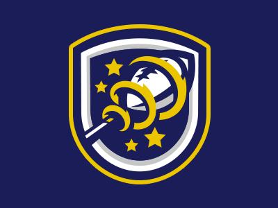 Magic Crest Sports Logo Design Retro Logos Sports Logo Inspiration