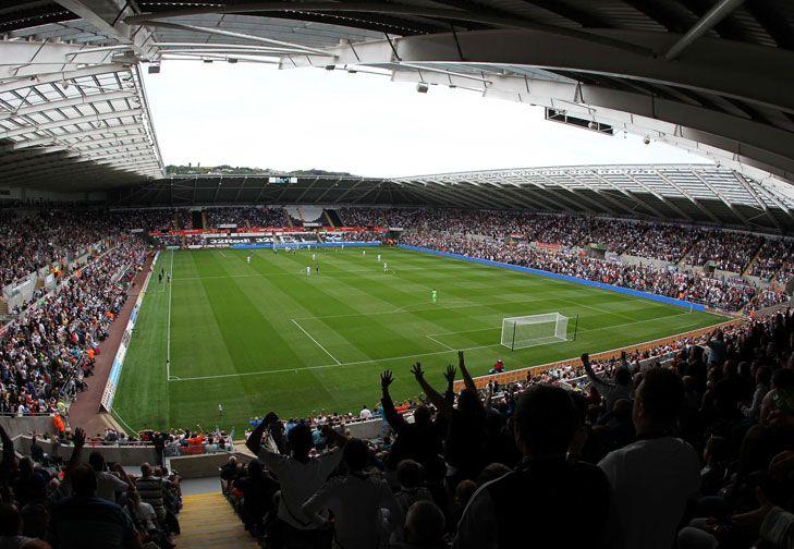 Liberty stadium swansea city capacity 20750 swansea