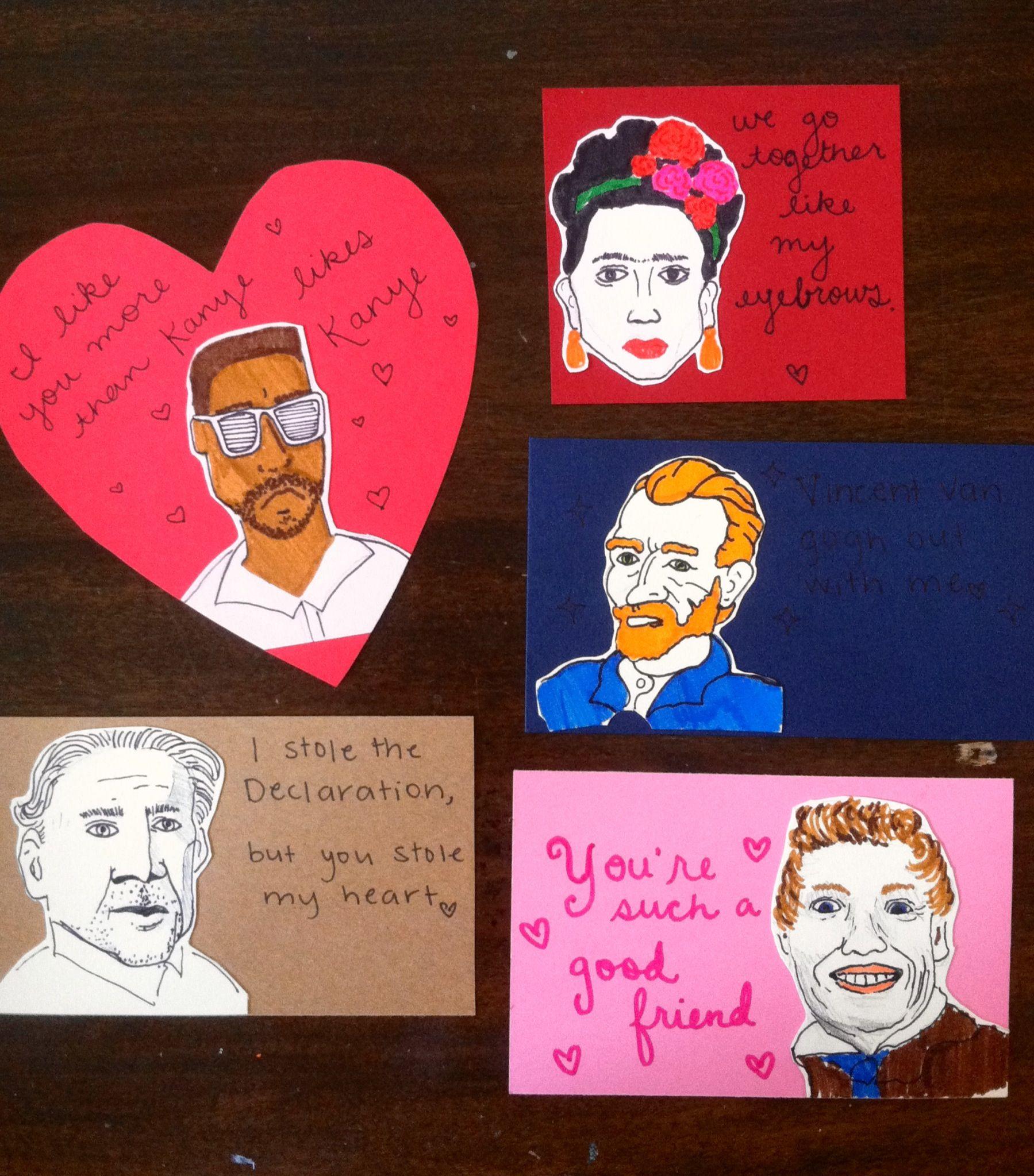 Kanye West Frida Kahlo Vincent Van Gogh Les Mis And Nicolas Cage