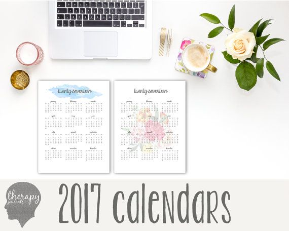 2017 Year-at-a-Glance Calendar home management binder, yearly - yearly calendar