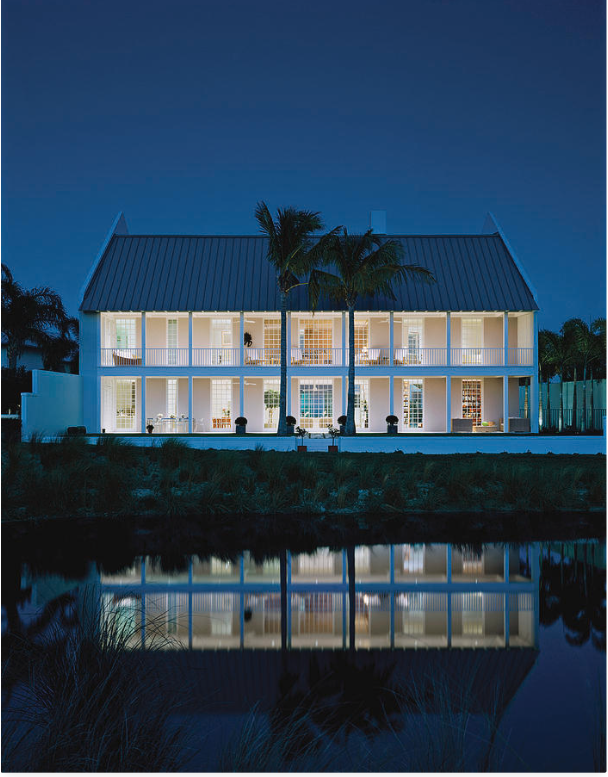 Southern night light. Photographed by Durston Saylor for