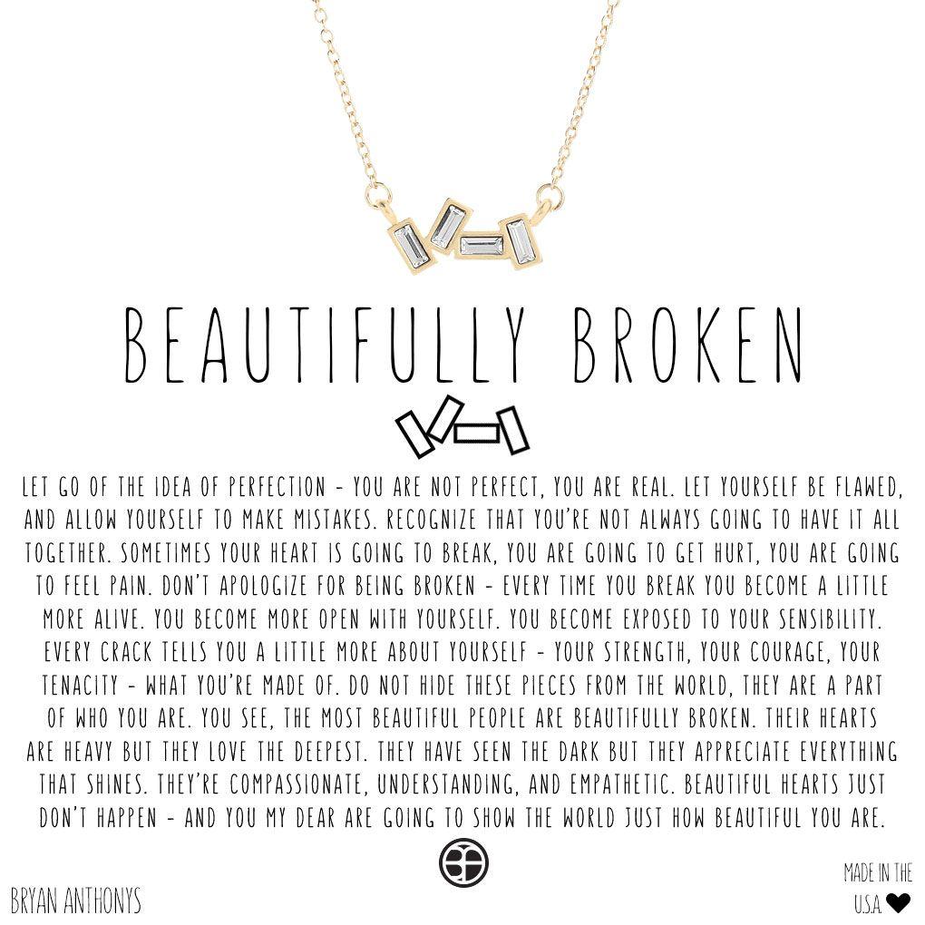b59dcd691 Beautifully Broken Necklace in 2019 | Jewelry | Beautifully broken ...