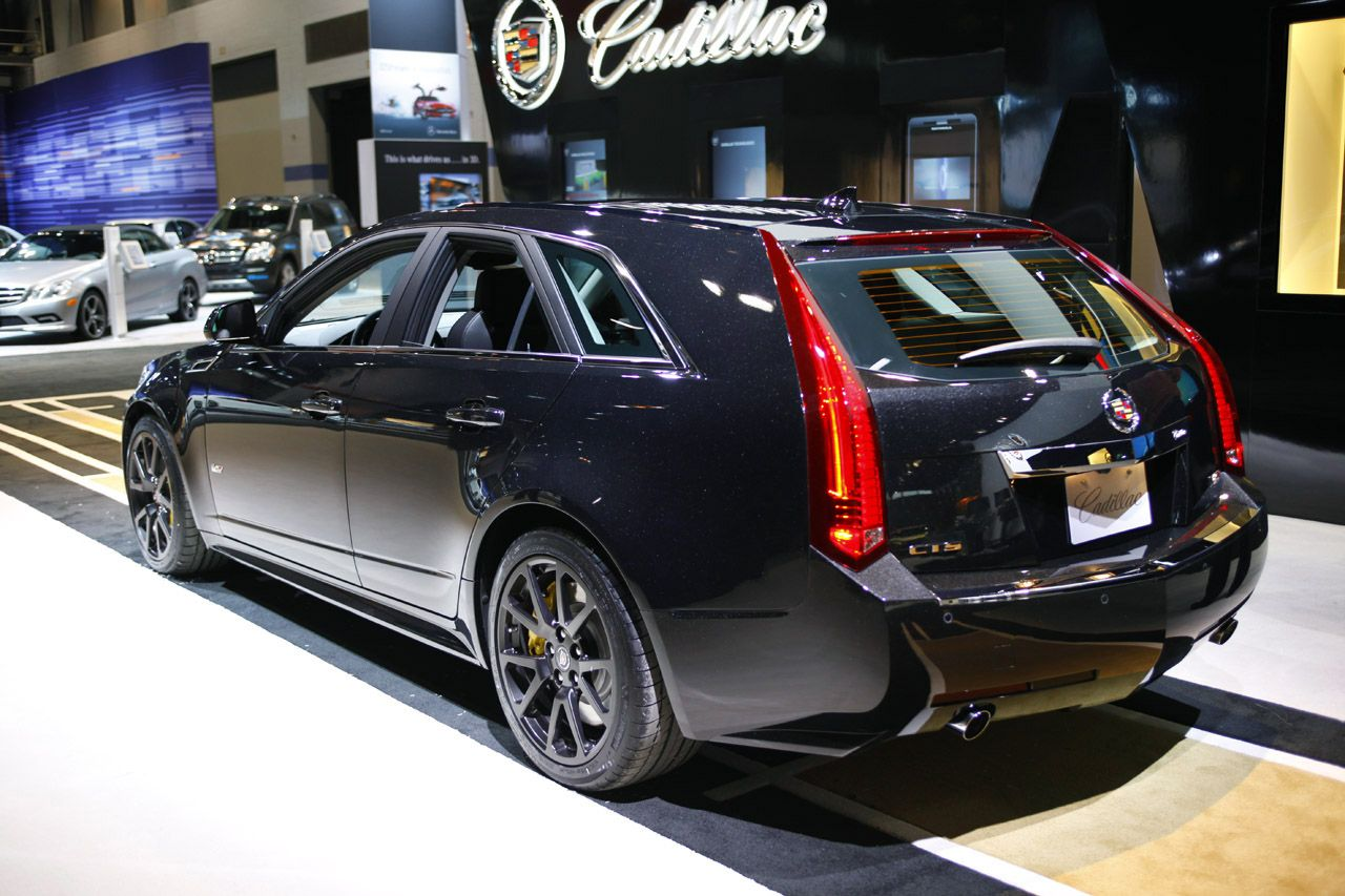 V8 CTS-V Wagon...It's not just a wagon, its a luxurious wagon!