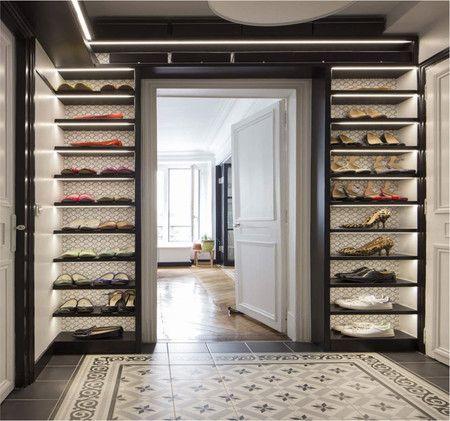 Una de las claves para disfrutar de un vestidor o de un buen armario ...