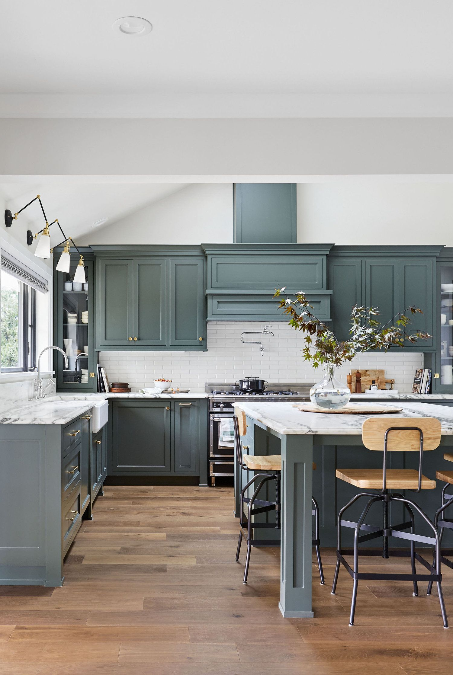 Beautiful Non Traditional Paint Colors Ames Interiors Kitchen Color Trends Green Kitchen Cabinets Kitchen Remodeling Projects