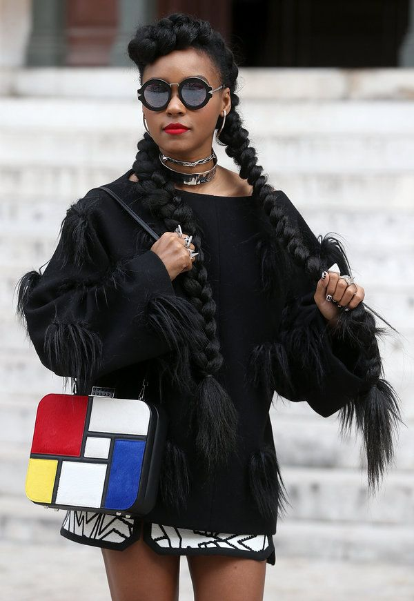Janelle Monaes Hair Stole The Show At Paris Fashion Week People I