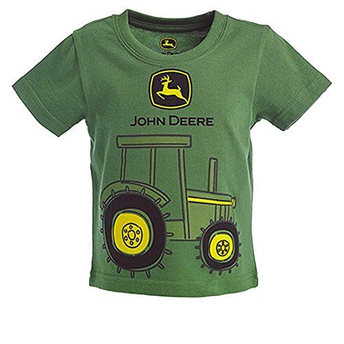 John Deere Baby Boys Tractor Graphic Short Sleeve Tee Green 12 Months * Find out more about the great product at the image link.