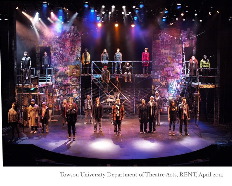 Rent. Towson University Dept. of Theatre Arts. Scenic design by Daniel Ettinger. & Rent. Towson University Dept. of Theatre Arts. Scenic design by ... azcodes.com