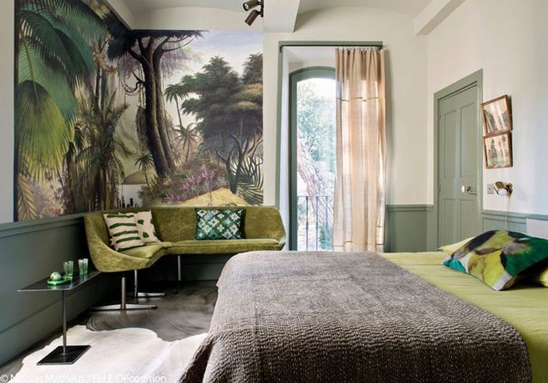 Inspiration Et Idees Avec Un Papier Peint Panoramique Avec Images Maison D Hotes Deco Chambre D Hotes Salons De Ferme