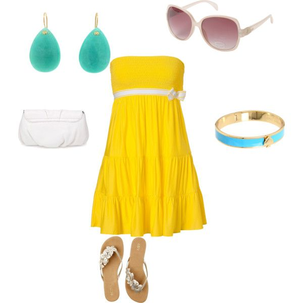 Springtime & Sunshine, created by oliviawade on Polyvore