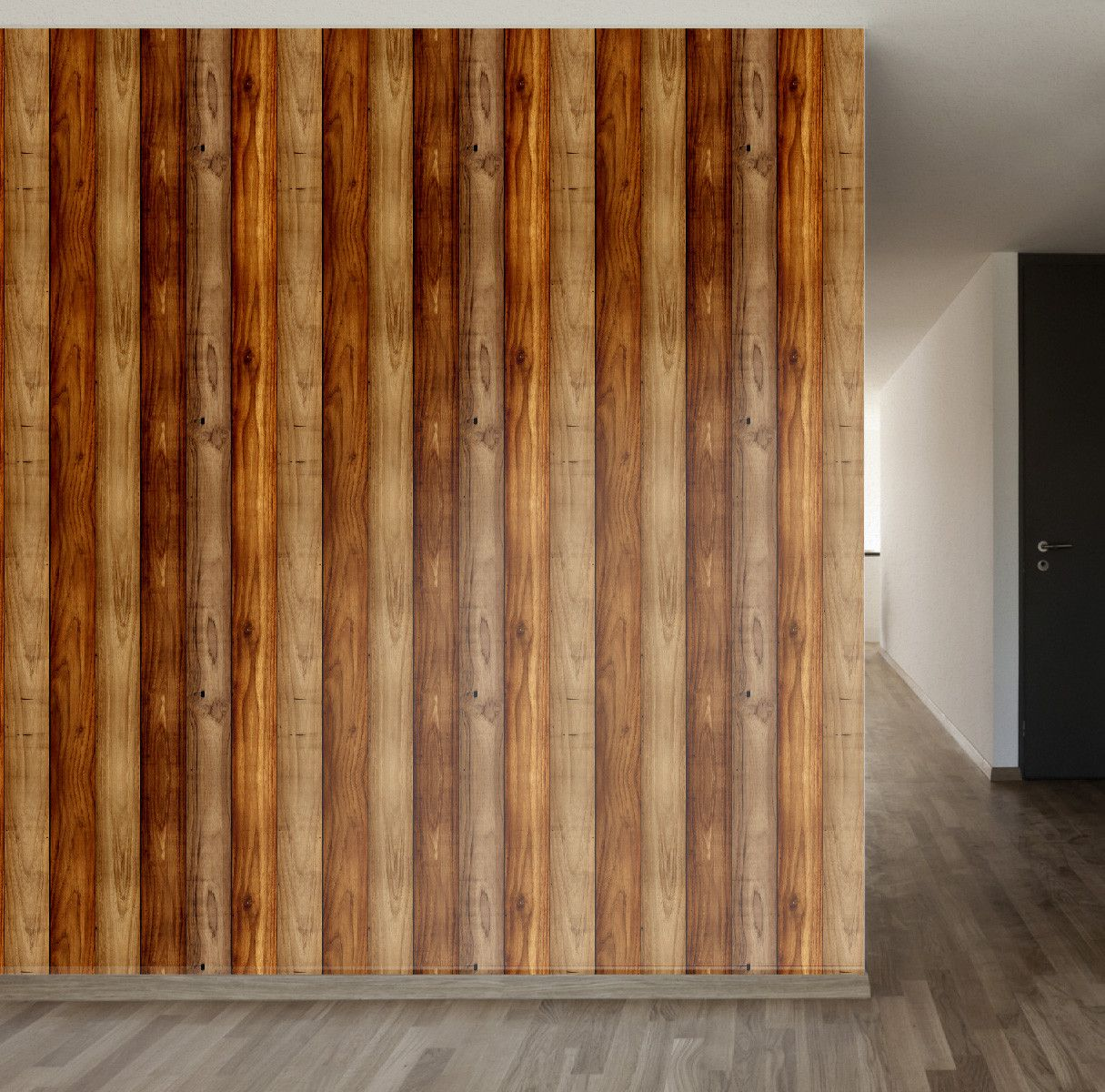 Wood Panel Removable Wallpaper Wall Decale