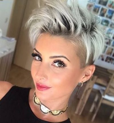 cute hairstyle ideas for long face 2020  short shaved