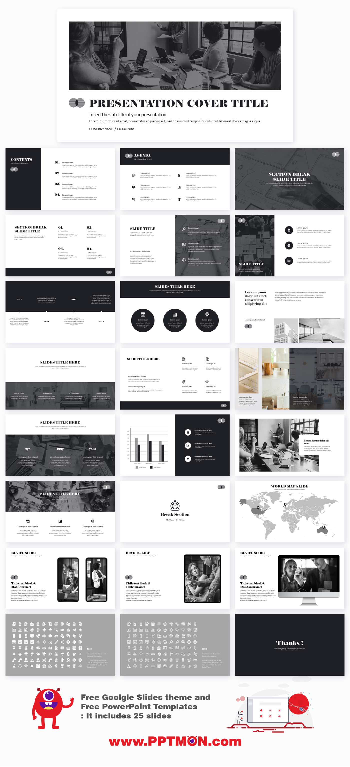 Architect Minimal Free Presentation Templates Free Google Slides Theme And Powerpoint In 2020 Presentation Template Free Google Slides Themes Presentation Templates
