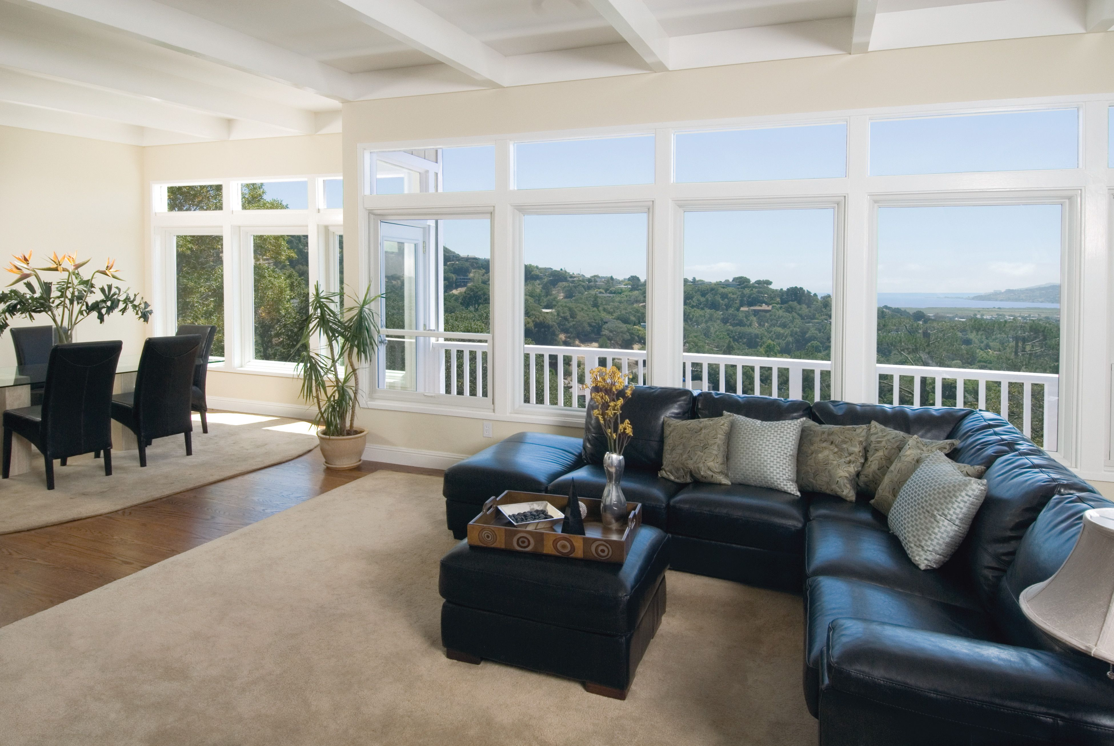 Large Small Picture Windows Can Be Mulled Together To Maximize Light And Spectacular Views