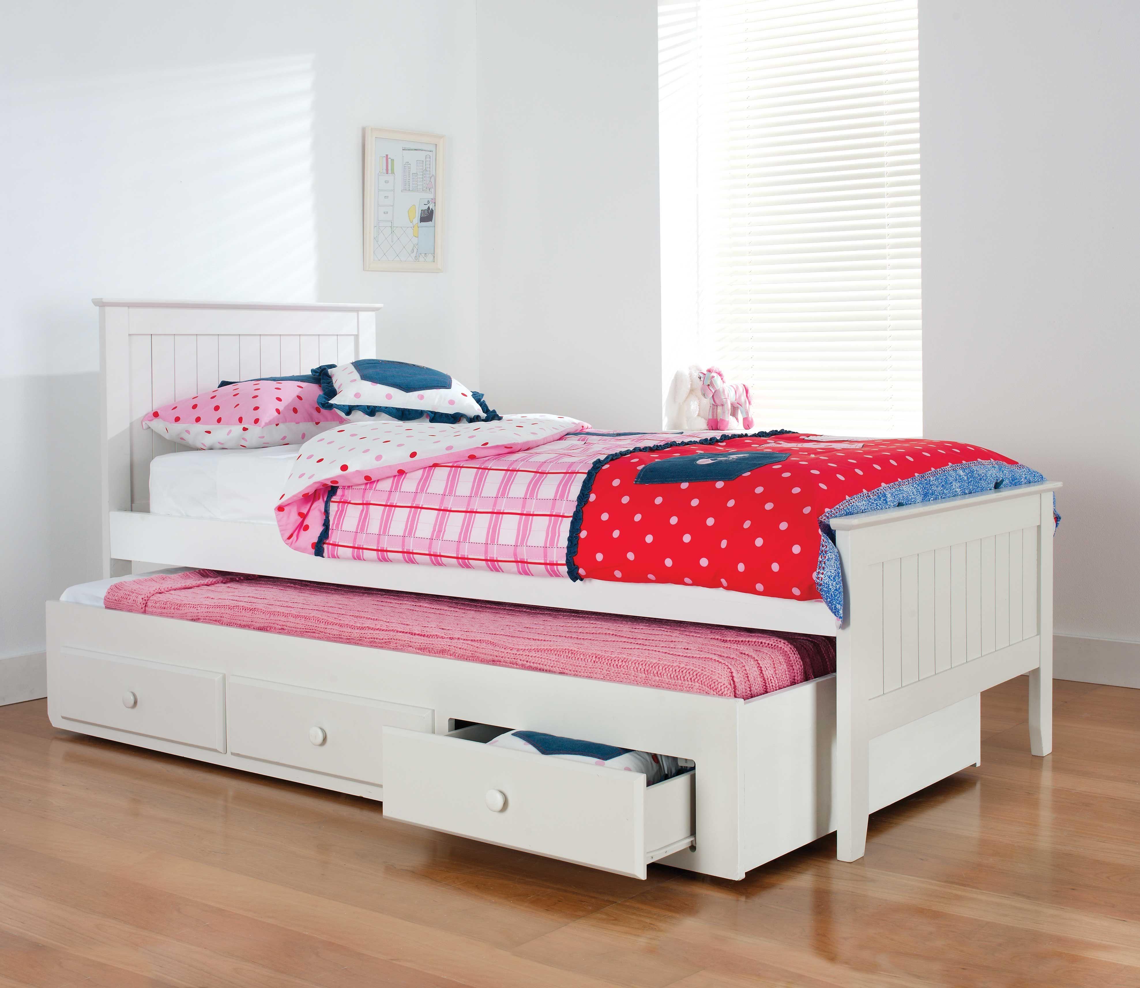 ALASKA SB BED W/TRUNDLE Kids bedroom furniture sets