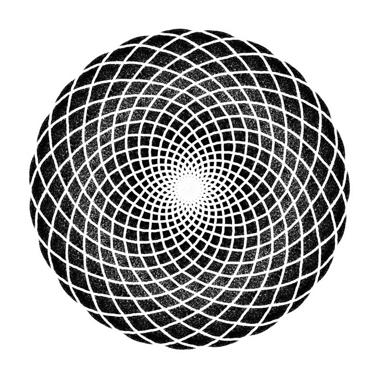 how to draw sacred geometry spiral