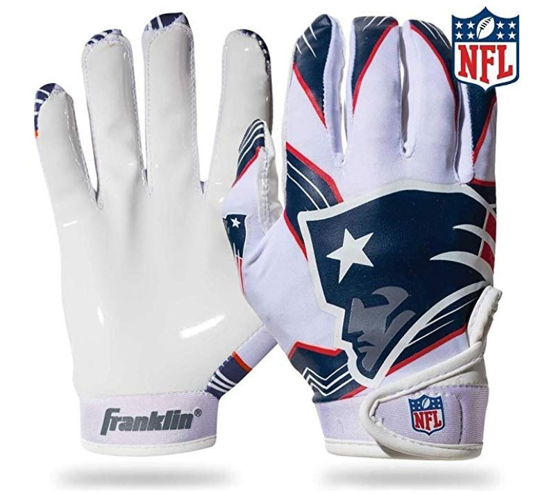 Franklin Sports Youth Nfl Football Receiver Gloves Receiver Gloves For Kids Nfl Te Football Gloves Franklin Sports American Football Clothing And Equipment