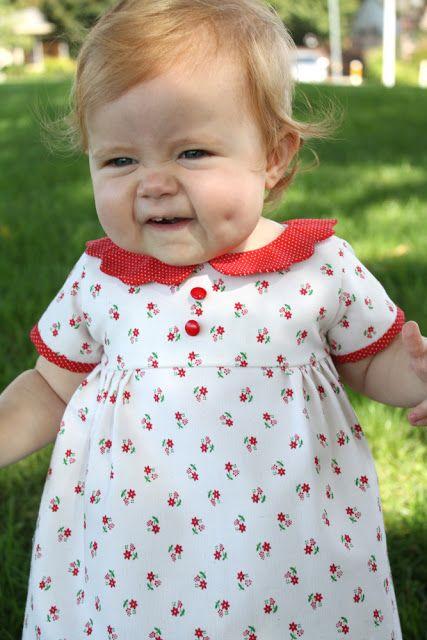 the vintage heirloom dress-a tutorial | baby | Pinterest | Tutorials ...