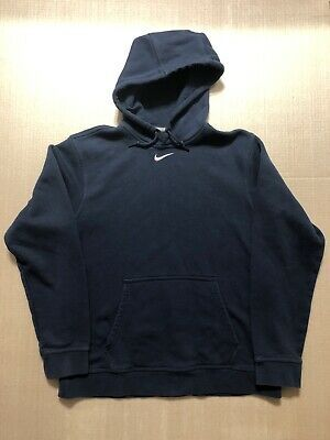 Details About Vintage Nike Center Swoosh Hoodie Sweatshirt Pullover Blue Travis Scott Medium In 2020 Grey Sweatshirt Hoodie Mens Outfits Sweatshirts Hoodie