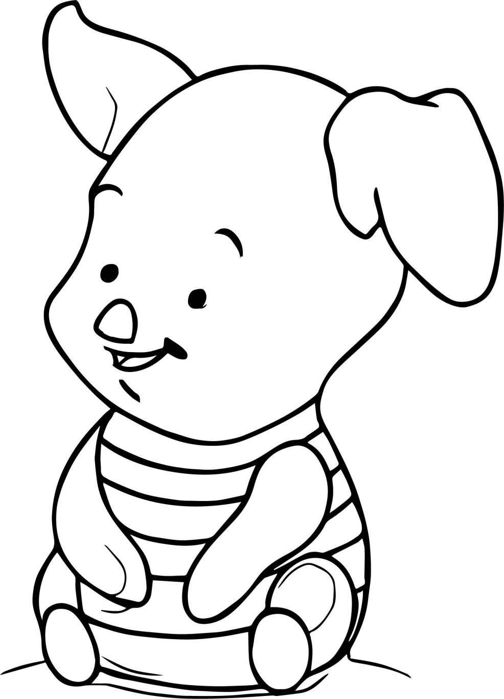 31++ Cute baby pig coloring pages ideas