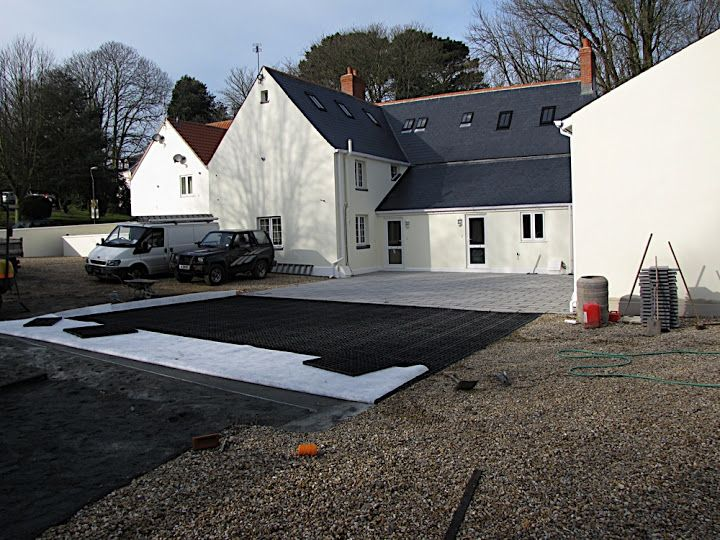 Laying gridforce gravel driveway grids is a simple process