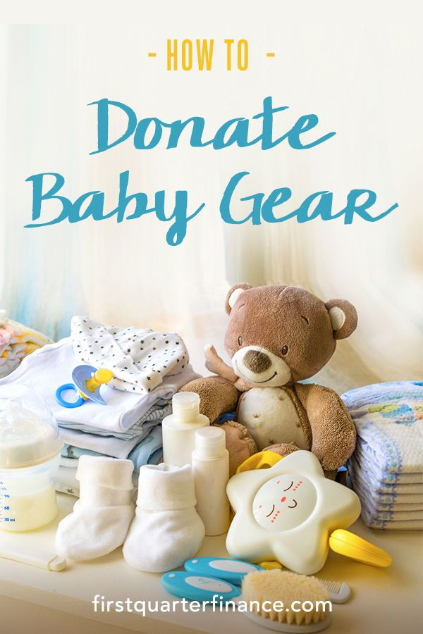 Where to Donate Baby Items: 20 Ways to Donate Baby Clothes ...