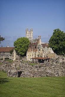 Canterbury Cathedral, spiritual home of the Archbishop of Canterbury, head of the world wide Anglican community.