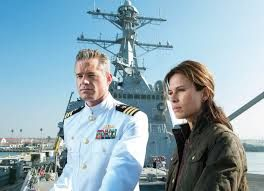"The last ship cast. Starring Eric Dane from ""Grey's Anatomy"" and Rhona Mitra from ""Underworld""."