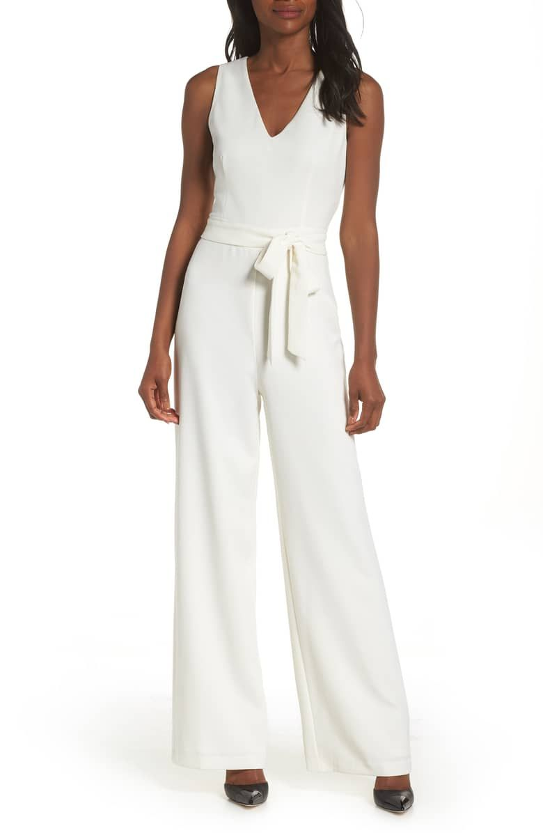 759dd4e656f5 What a perfect pre wedding event bridal jumpsuit! Only  99 for this great  outfit!  jumpshuit  bridal  bridalfashion  whiteoutfits