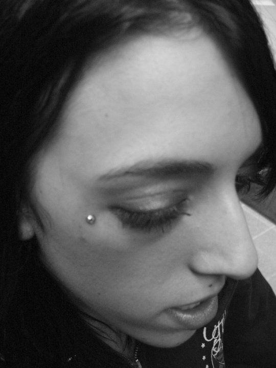 Anti Eyebrow Microdermal Bodypiercing Surfacedermal