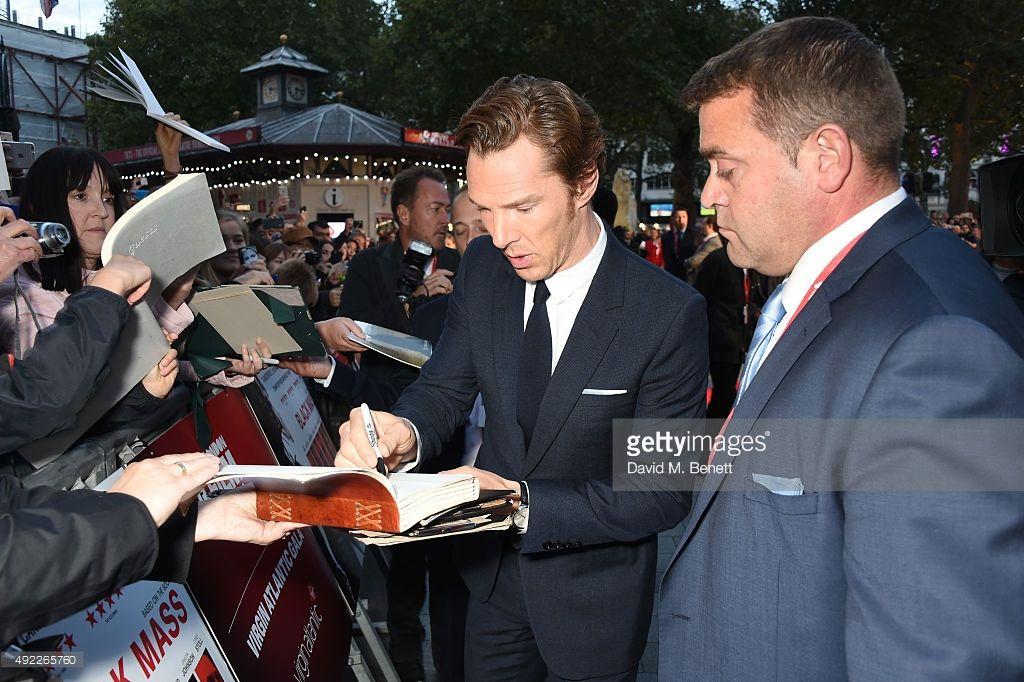 ニュース写真 : Benedict Cumberbatch attends the Virgin Atlantic...