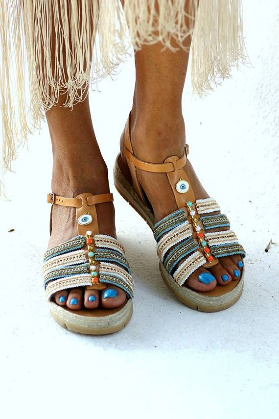 """Sandals """"Athina"""" (handmade to order)"""