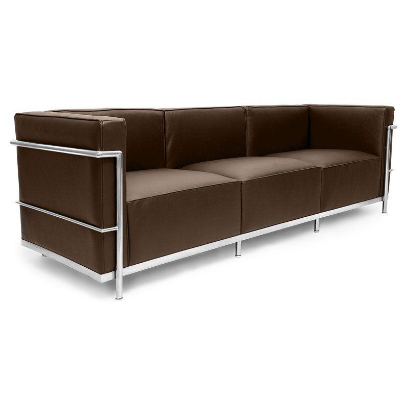 Kardiel Roche 3 Seater Sofa Espresso - LC3.3-ESPRESSO-LTR