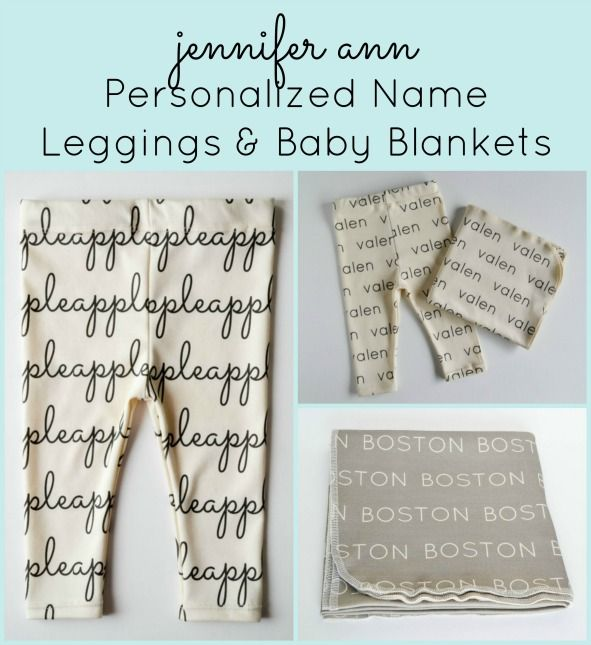 Jennifer ann one of a kind baby style discount code baby jennifer ann personalized name baby leggings and blankets save with exclusive discount code negle Image collections