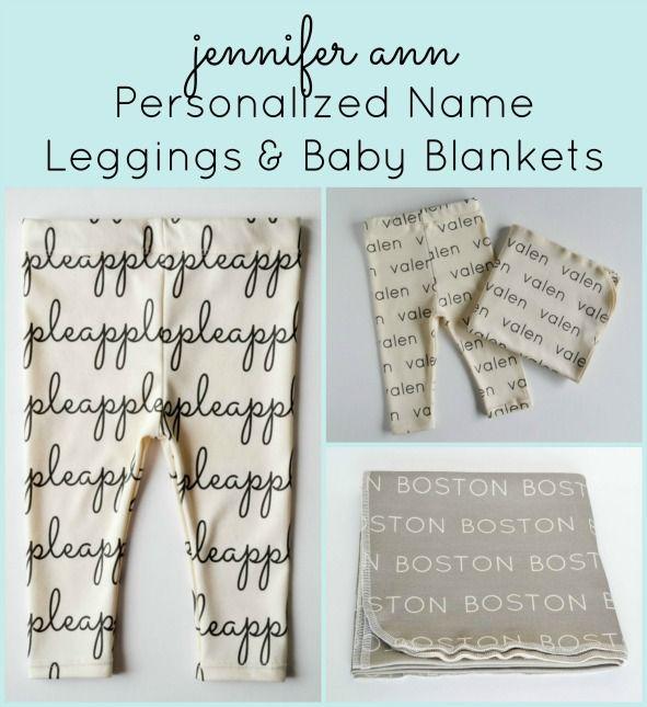 Jennifer ann personalized name baby leggings and blankets save jennifer ann personalized name baby leggings and blankets save with exclusive discount code negle Images