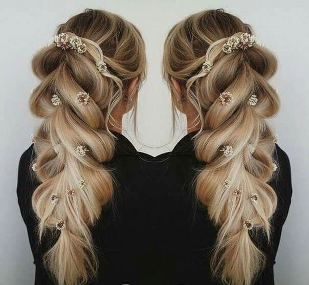 19+ Coiffure mariage we heart it idees en 2021