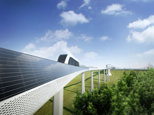 Bologna, People Mover, Eco transportation, Solar Powered Monorail