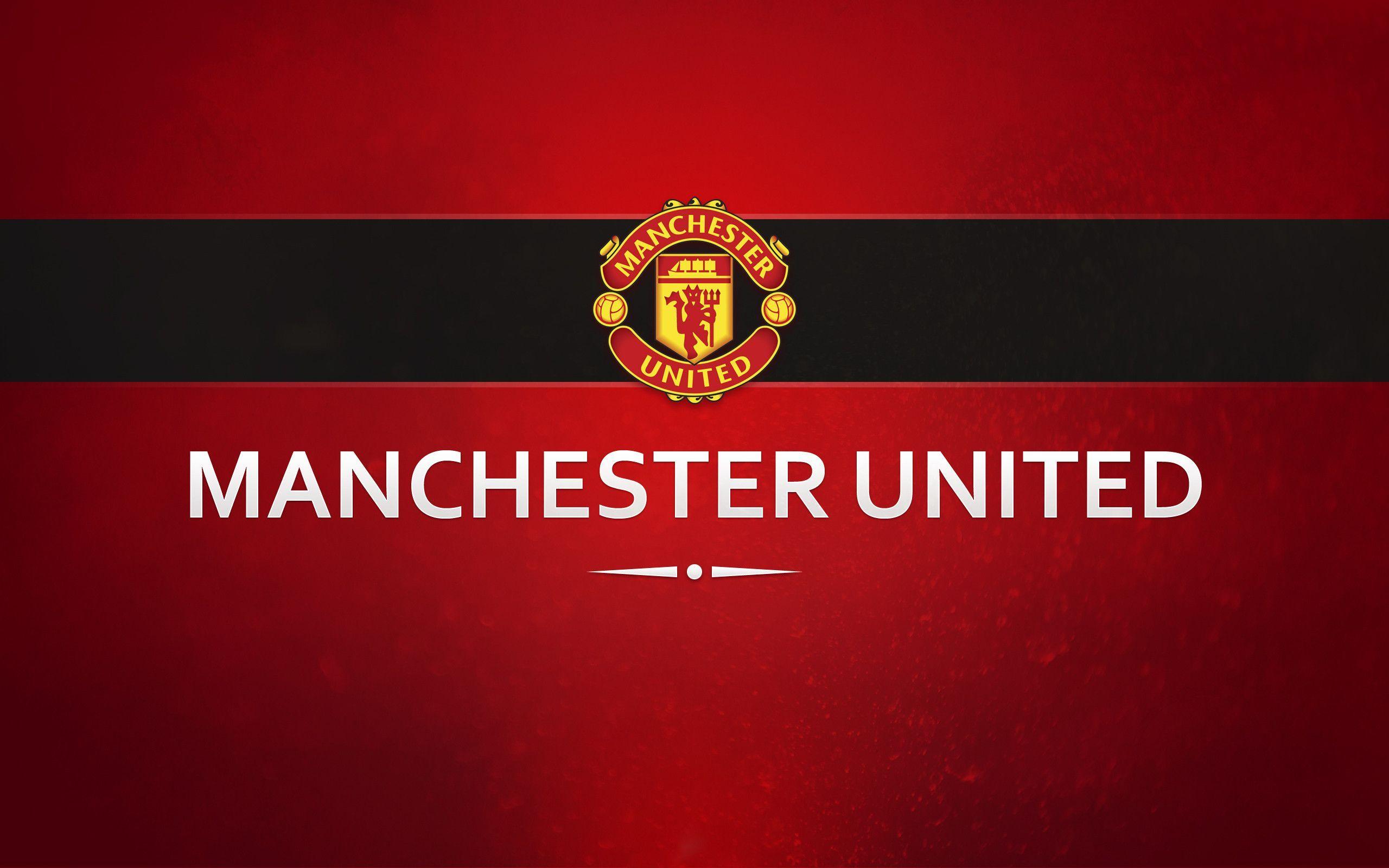 Man Utd Backgrounds Hd Wallpaperhd Wiki Manchester United Wallpaper Manchester United Logo Manchester United