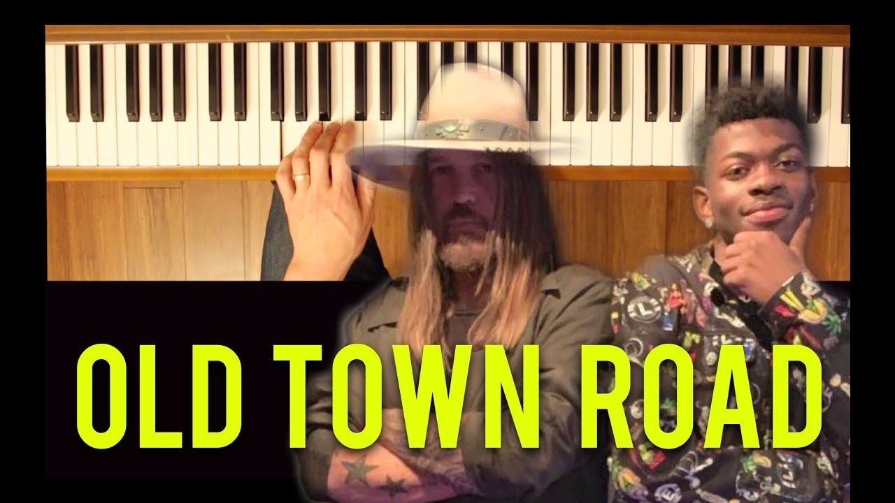 Old Town Road Lil Nas X Intermediate Piano Tutorial Piano