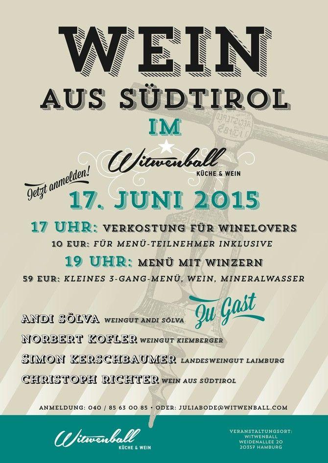 Veranstaltung - Witwenball | Südtirol in Hamburg | Pinterest