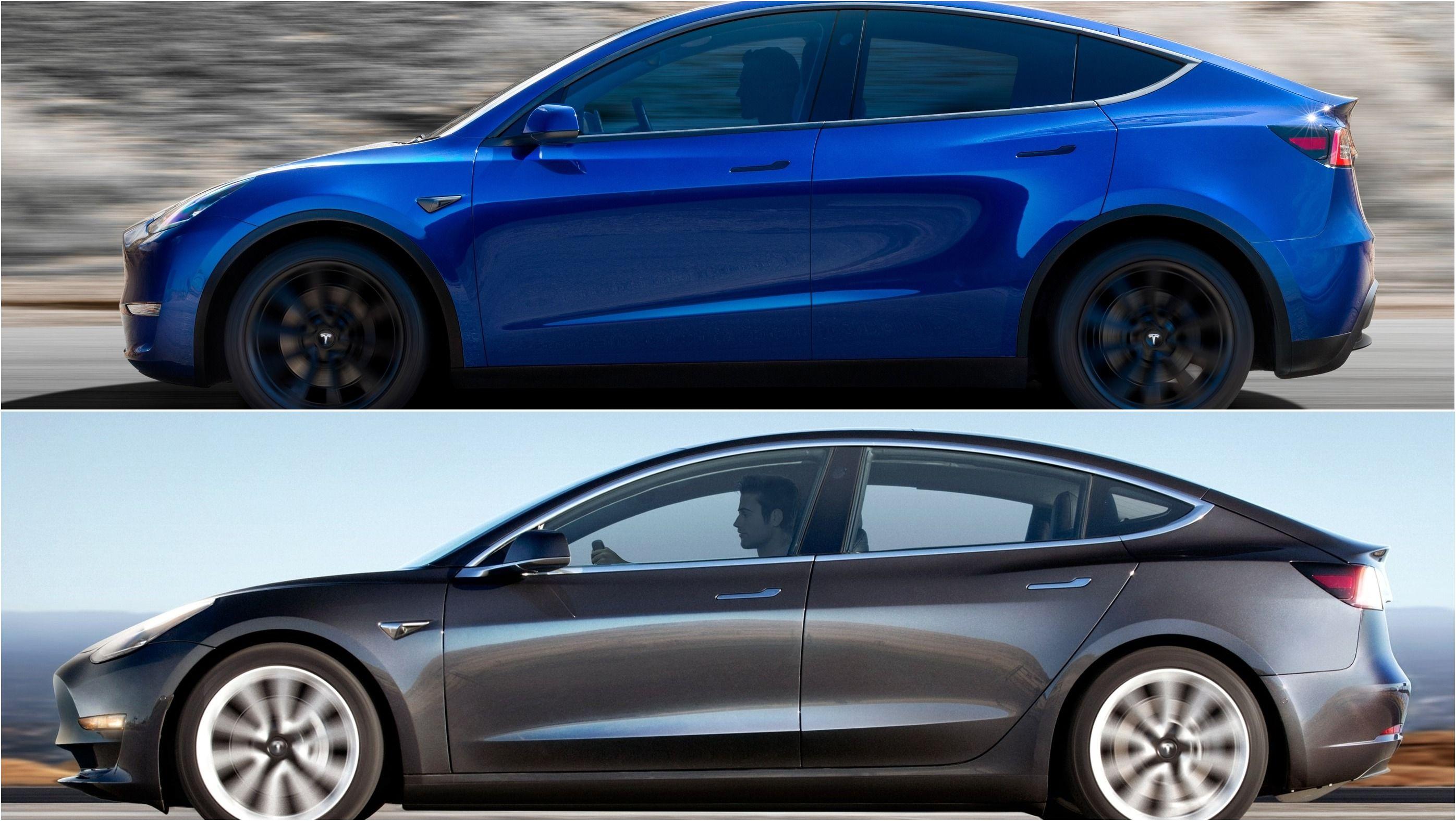 Is The 2020 Tesla Model Y Just A Model 3 Hatchback Hatchback