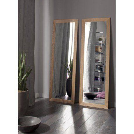 Miroir Nakato INSPIRE, chêne, l40 x H140 cm Mirrors Pinterest