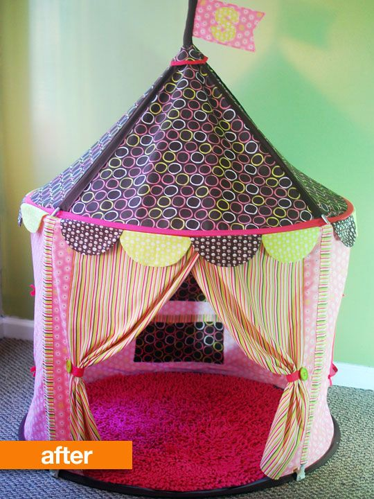 Before After Ikea Circus Tent Ikea Diy Childrens Tent Ikea Tent