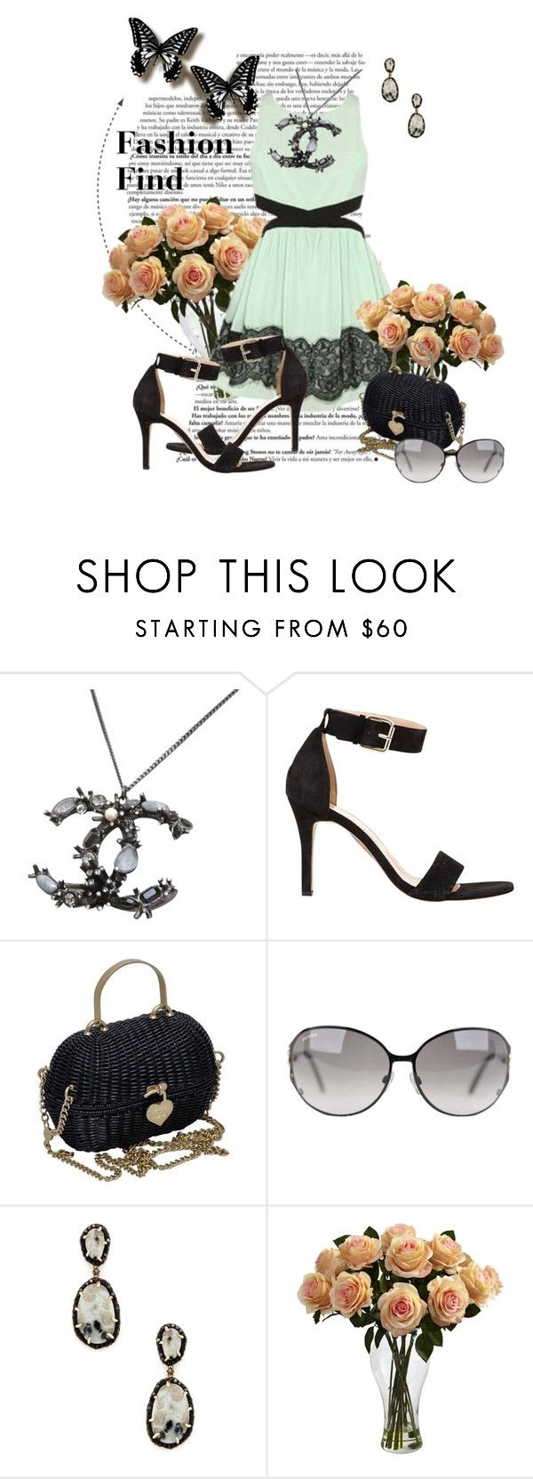 """""""CutOut"""" by blorden on Polyvore featuring Chanel, Mint Velvet, Phillips House and Nearly Natural"""